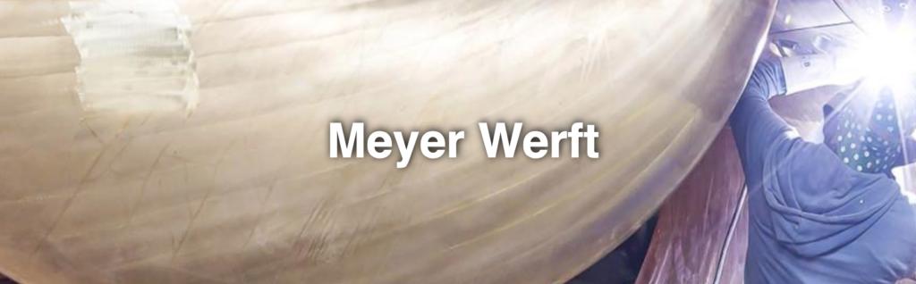vader zoon uitje Meyer Werft